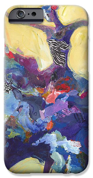 Dance iPhone Cases - Flamenco Dancer No 5 iPhone Case by Shelli Walters