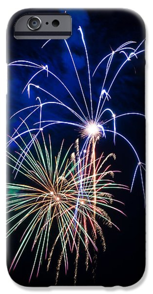 4th July iPhone Cases - Flash of Brilliance iPhone Case by Bill Pevlor