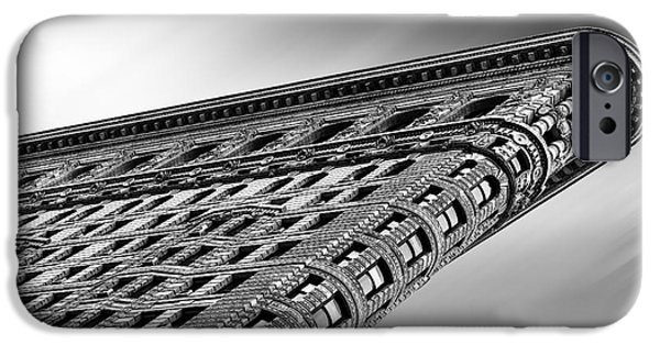 Crazy iPhone Cases - Flatiron Building NYC iPhone Case by John Farnan