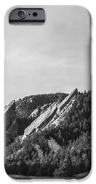 Flatirons B W iPhone Case by Aaron Spong