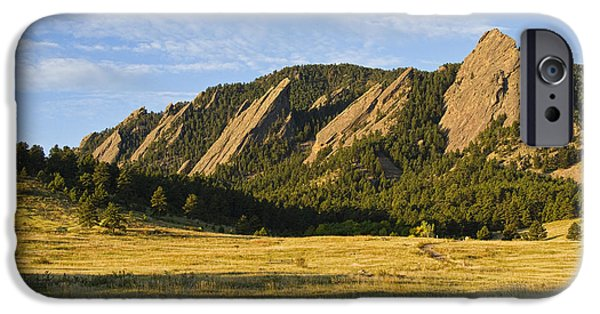 Epic iPhone Cases - Flatirons from Chautauqua Park iPhone Case by James BO  Insogna