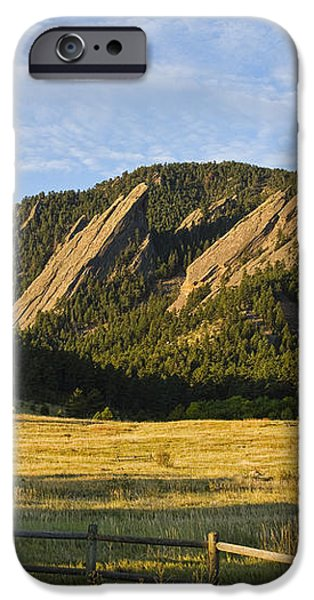 Flatirons from Chautauqua Park iPhone Case by James BO  Insogna