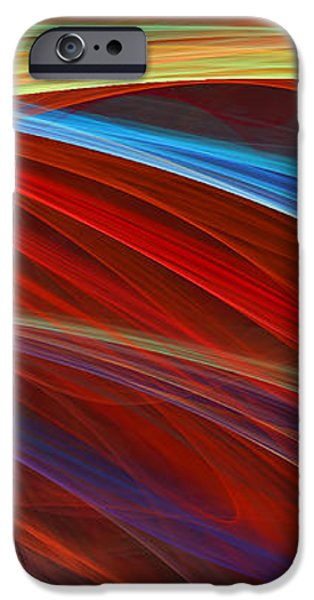 Flaunting Colors iPhone Case by Lourry Legarde