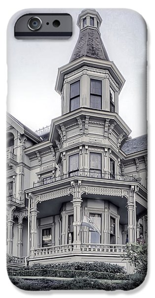 FLAVEL VICTORIAN HOME iPhone Case by Daniel Hagerman
