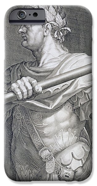 Flavius Domitian iPhone Case by Titian