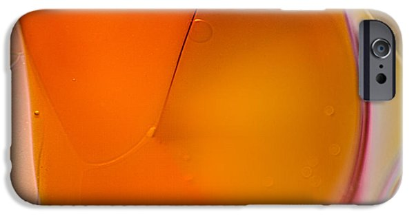Fine Abstract Glass iPhone Cases - Fleeting iPhone Case by Omaste Witkowski