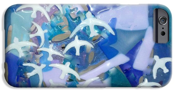 Flight Glass iPhone Cases - Flight iPhone Case by Cat Christensen