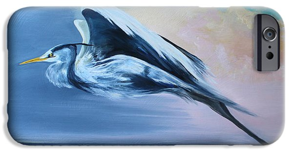 Sea Birds iPhone Cases - Flight iPhone Case by Lisa Graves