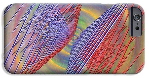 Sea Birds Digital Art iPhone Cases - Flight Of The Albatross iPhone Case by Tim Allen