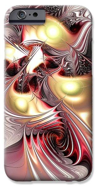 Phoenix iPhone Cases - Flight of the Phoenix iPhone Case by Anastasiya Malakhova