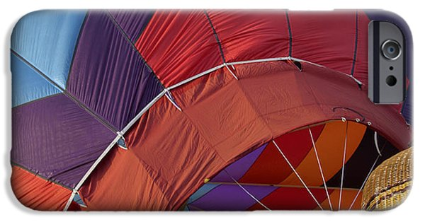 Hot Air Balloon iPhone Cases - Flight Plan iPhone Case by Anna Lisa Yoder
