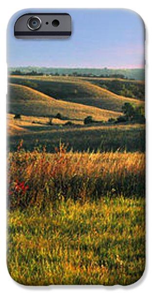 Flint Hills Shadow Dance iPhone Case by Rod Seel