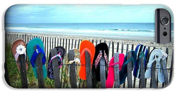 Mitt Romney iPhone Cases - Flip Flops 2 iPhone Case by Conor Murphy