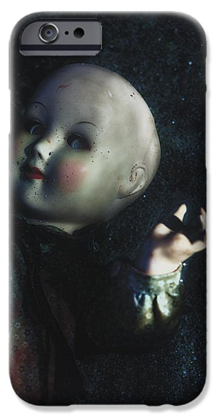 floating doll iPhone Case by Joana Kruse