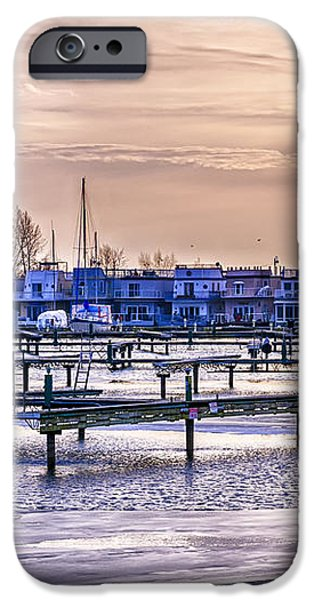 Floating homes at Bluffers park marina iPhone Case by Elena Elisseeva