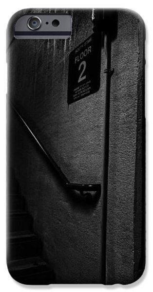 Floor Two After Dark iPhone Case by Bob Orsillo