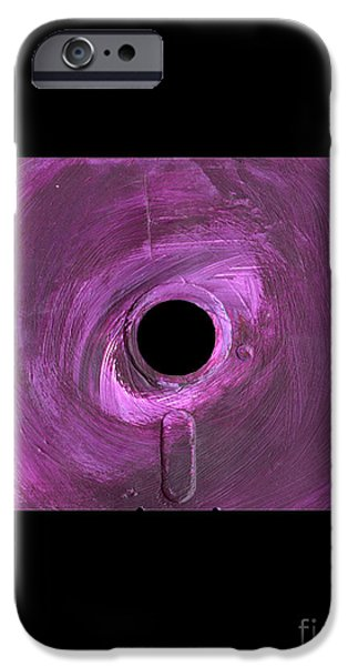 Disc Mixed Media iPhone Cases - Floppy 10 iPhone Case by Brandon Lynch