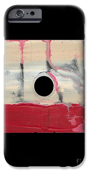 Disc iPhone Cases - Floppy 14 iPhone Case by Brandon Lynch