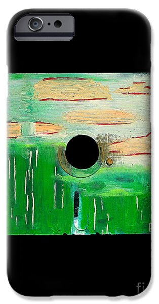 Disc Mixed Media iPhone Cases - Floppy 19 iPhone Case by Brandon Lynch