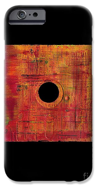 Disc Mixed Media iPhone Cases - Floppy 20 iPhone Case by Brandon Lynch
