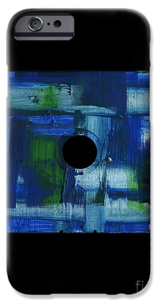 Disc Mixed Media iPhone Cases - Floppy 6 iPhone Case by Brandon Lynch