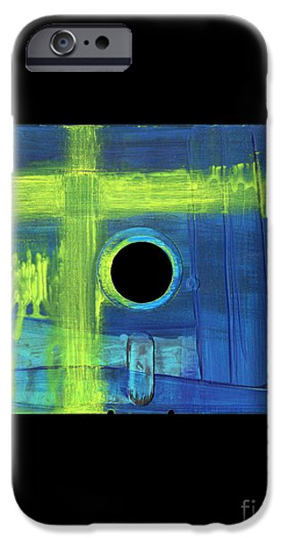 Disc Mixed Media iPhone Cases - Floppy 8 iPhone Case by Brandon Lynch