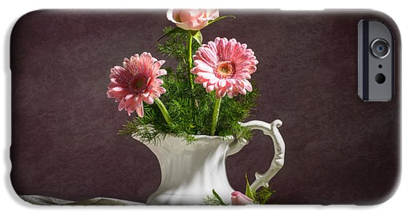 Daisy Bud iPhone Cases - Floral Arrangement iPhone Case by Amanda And Christopher Elwell