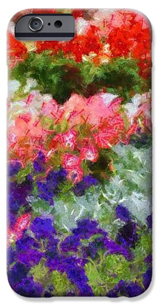 Floral Fantasy iPhone Case by Dan Sproul