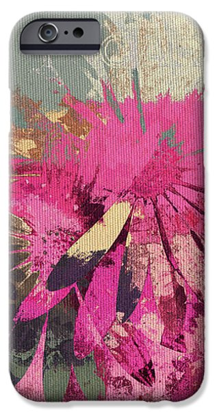 Floral Fiesta - s33bt01 iPhone Case by Variance Collections