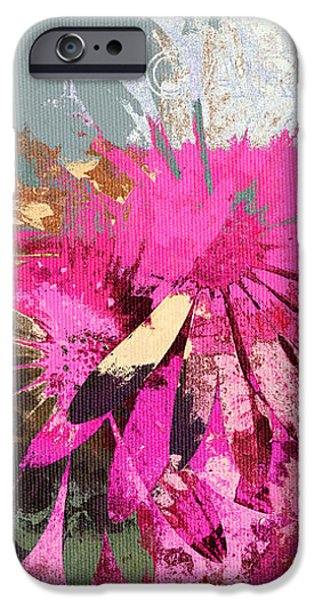Floral Fiesta - s33ct01 iPhone Case by Variance Collections