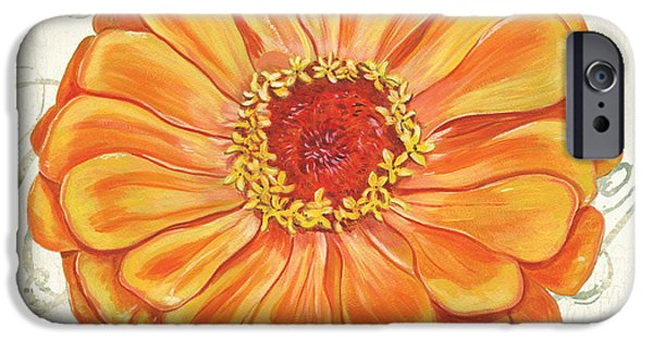 Flora iPhone Cases - Floral Inspiration 2 iPhone Case by Debbie DeWitt