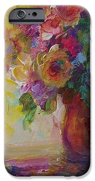 Floral Still Life iPhone Case by Mary Wolf