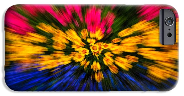 Tripple iPhone Cases - Floral Triple Zoom iPhone Case by Grace Grogan