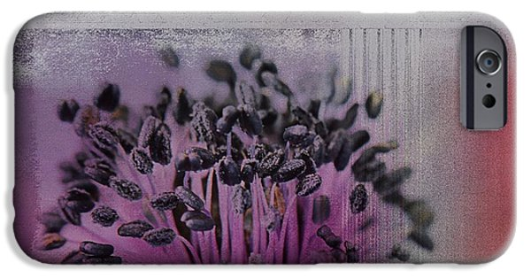 Floral Digital Art Digital Art iPhone Cases - Floralart - 02b iPhone Case by Variance Collections
