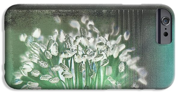 Floral Digital Art Digital Art iPhone Cases - Floralart - 03 iPhone Case by Variance Collections