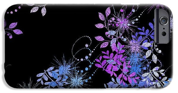 """""""variance Collections"""" iPhone Cases - Floralities - 02a iPhone Case by Variance Collections"""