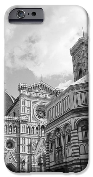 Recently Sold -  - Built Structure iPhone Cases - Florence Cathedral iPhone Case by Brian Kamprath