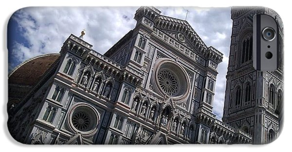 Ted Williams iPhone Cases - Florence Cathedral  iPhone Case by Ted Williams