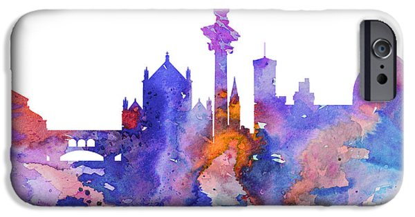 Florence iPhone Cases - Florence  iPhone Case by Luke and Slavi