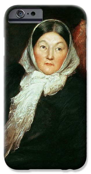 Medicine Paintings iPhone Cases - Florence Nightingale iPhone Case by Sir William Blake Richomond
