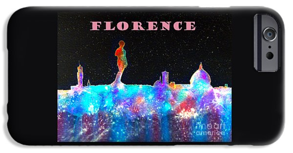 Florence Cathedral iPhone Cases - Florence Poster iPhone Case by Bill Holkham
