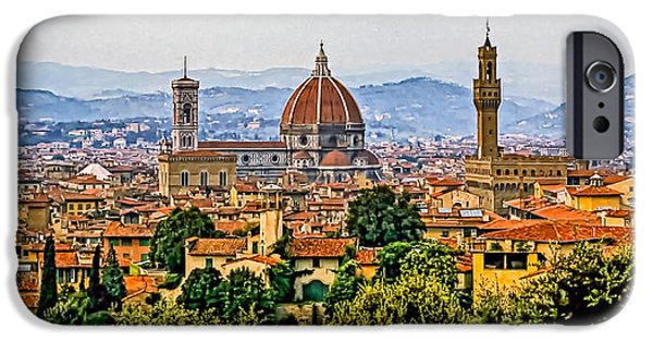 The Duomo iPhone Cases - Florence iPhone Case by Steve Harrington