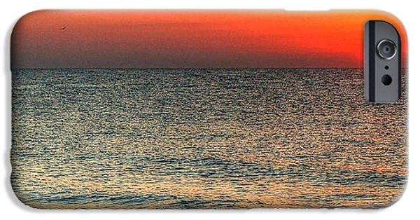 Michael iPhone Cases - Florida Point Sunrise iPhone Case by Michael Thomas