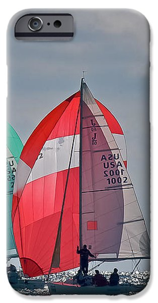 Florida Spinnakers iPhone Case by Steven Lapkin