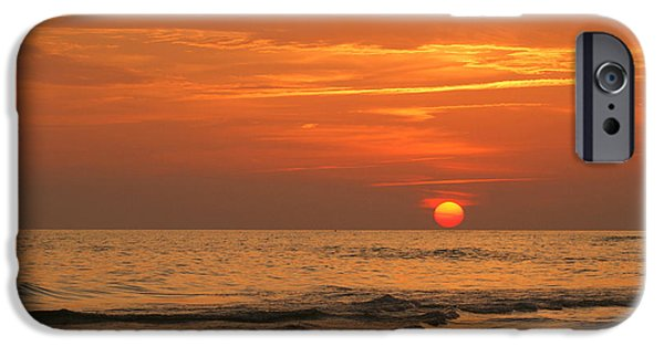 Panama City Beach Photographs iPhone Cases - Florida Sunset iPhone Case by Sandy Keeton