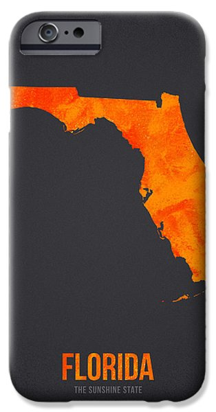 Everglades iPhone Cases - Florida The Sunshine State iPhone Case by Aged Pixel