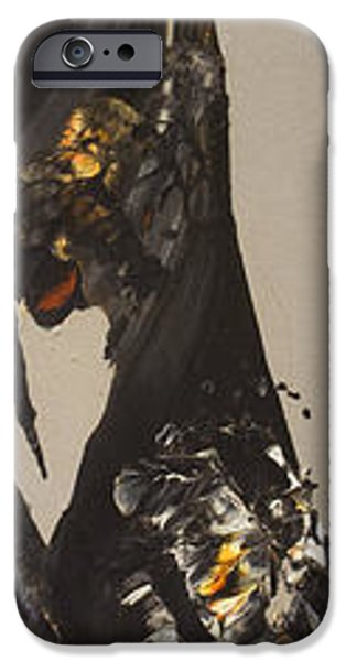 Abstract Expressionist iPhone Cases - Flow #130 iPhone Case by Jonas Gerard
