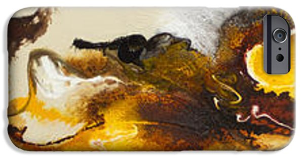 Recently Sold -  - Abstract Expressionist iPhone Cases - Flow #165 iPhone Case by Jonas Gerard