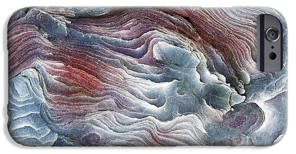 Recently Sold -  - Red Rock iPhone Cases - Flow of Erosion iPhone Case by Tim Gainey