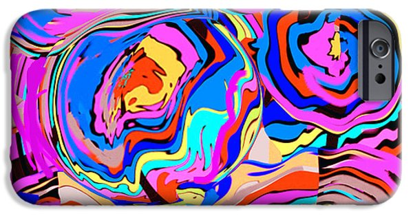 At Poster Mixed Media iPhone Cases -  Abstract Art Painting #2 iPhone Case by Rjf at beautifullart  RJ   Friedenthal